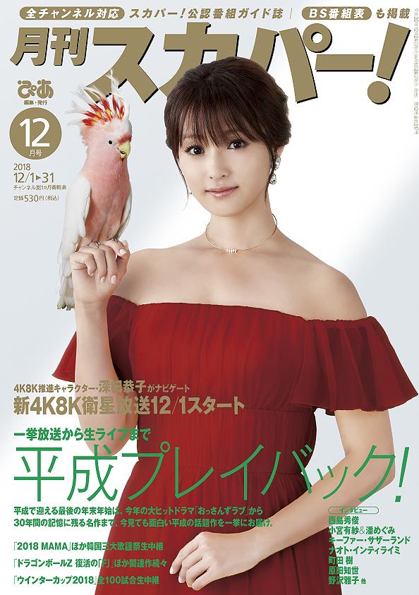 月刊スカパー!12月号